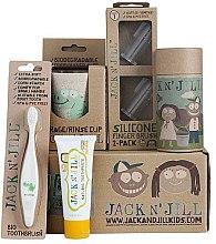 """Парфюми, Парфюмерия, козметика Детски комплект за зъби """"Dino"""" - Jack N' Jill"""