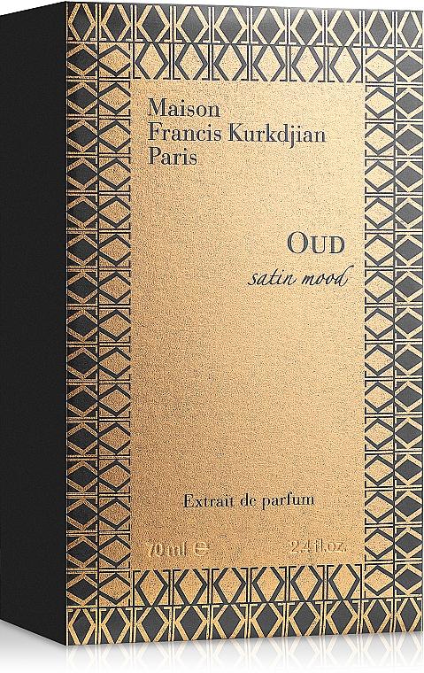 Maison Francis Kurkdjian Oud Satin Mood Extrait - Парфюмна вода
