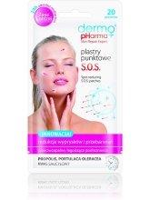 Парфюми, Парфюмерия, козметика Лепенки за лице - Dermo Pharma S.O.S Patch