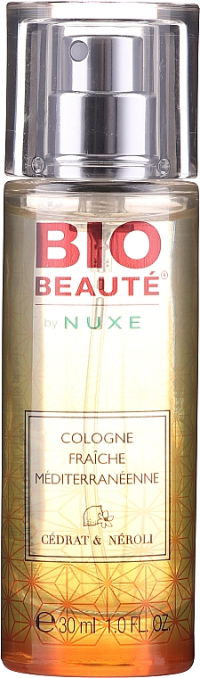 Nuxe Bio Beaute Cologne Fresh Mediterranean Cedrat & Neroli - Одеколони
