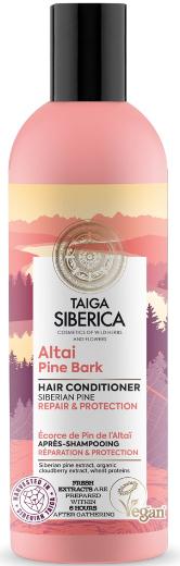 Възстановяващ балсам за увредена коса - Natura Siberica Doctor Taiga