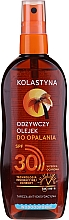 Парфюмерия и Козметика Водоустойчиво масло-спрей за тен SPF30 - Kolastyna