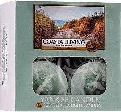 Парфюми, Парфюмерия, козметика Чаени свещи - Yankee Candle Scented Tea Light Candles Coastal Living