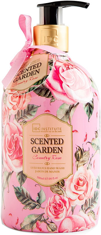 Течен сапун за ръце - IDC Institute Scented Garden Hand Wash Country Rose — снимка N1