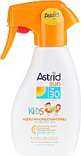 Парфюмерия и Козметика Детски слънцезащитен лосион-спрей - Astrid Sun Kids Milk Spray SPF 30