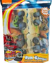 Парфюми, Парфюмерия, козметика Комплект детски гъби за баня - Suavipiel Bath Sponges Blaze And The Monster Machines