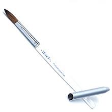 Парфюмерия и Козметика Четка за акрил, бяла - IBD Acrylic Brush