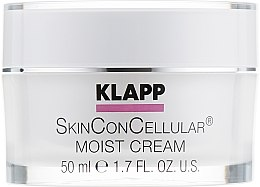 Парфюмерия и Козметика Хидратиращ крем за лице - Klapp Skin Con Cellular Moist Cream
