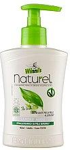 Парфюми, Парфюмерия, козметика Течен сапун за ръце с екстракт от зелен чай, бреза и алое - Winni's Naturel Liquid Hand Soap Mani The Verde