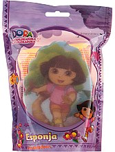 """Парфюмерия и Козметика Детска гъба за баня """"Дора"""", 169-8 - Suavipiel Dora Bath Sponge"""