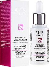 Парфюми, Парфюмерия, козметика Хидратираща емулсия за лице - APIS Professional 4D Hyaluron + Lingostem