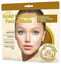 Парфюмерия и Козметика Колагенова маска за лице със злато - GlySkinCare Gold Collagen Facial Mask