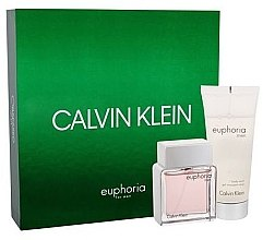 Парфюми, Парфюмерия, козметика Calvin Klein Euphoria Men - Комплект (тоал. вода/50ml + душ гел/100ml)