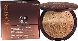 Парфюмерия и Козметика Бронзираща пудра - Lancaster 365 Sun Protecting Bronzing Face Powder SPF10 Adjustable Glow