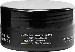 Парфюмерия и Козметика Матираща паста за коса със средна фиксация - Alfaparf Milano Blends Of Many Matte Paste