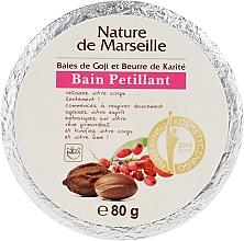 Парфюмерия и Козметика Бомбичка за вана с аромат на годжи бери и масло от шеа - Nature de Marseille Goji&Shea Butter