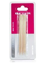 Парфюмерия и Козметика Дървени пръчици за избутване на кожички - Beter Beauty Care