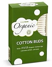 Парфюмерия и Козметика Клечки за уши - Simply Gentle Organic Cotton Buds