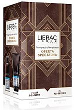 Парфюмерия и Козметика Комплект за бръснене - Lierac Homme (пяна/150ml + почистващ гел/200ml)