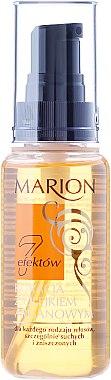 Лек балсам за коса с арганово маслко, без отмиване - Marion Hair Treatment With Argan Oil — снимка N3