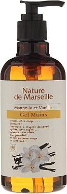 Измиващ гел за ръце с аромат на магнолия и ванилия - Nature de Marseille Magnolia&Vanilla Gel — снимка N1