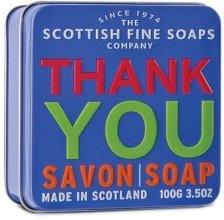 """Парфюми, Парфюмерия, козметика Сапун """"Благодаря"""" - Scottish Fine Soaps """"Thank You"""" Soap Tin"""