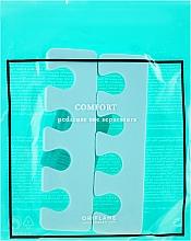 Парфюмерия и Козметика Педикюрни разделители, цвят мента - Oriflame Pedicure Toe Separators