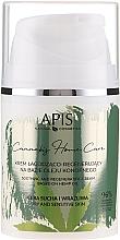 Парфюмерия и Козметика Възстановяващ крем на основа на конопено масло за тяло - APIS Professional Cannabis Home Care Soothing And Regenerating Cream