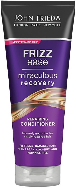 """Балсам """"Бързо възстановяване"""" за увредена коса - John Frieda Frizz Ease Miraculous Recovery Conditioner"""