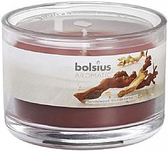 """Парфюми, Парфюмерия, козметика Ароматна свещ в бурканче """"Сандалово дърво"""" - Bolsius Candle"""