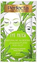 Парфюмерия и Козметика Пачове за очи - Perfecta Eye Patch Aloe & Vitamins