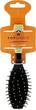 Четка за коса, 2151, черно-зелена - Top Choice — снимка N1