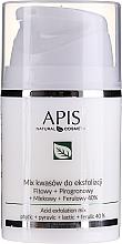 Парфюмерия и Козметика Киселинна смес за пилинг - APIS Professional Fit + Pirpgron + Milk + Ferulic 40%