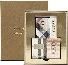 Парфюми, Парфюмерия, козметика Burberry Women's Mini - Комплект парфюмна вода (edp/4.5ml + edp/5ml + edp/5ml + edt/5ml)