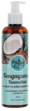 Кокосов шампоан за суха и увредена коса - Mayur — снимка N1