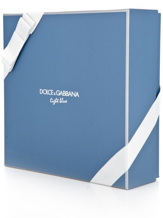 Dolce & Gabbana Light Blue Pour Homme - Комплект (edt 125 + sh/g 50 + a/sh balm 75) — снимка N4