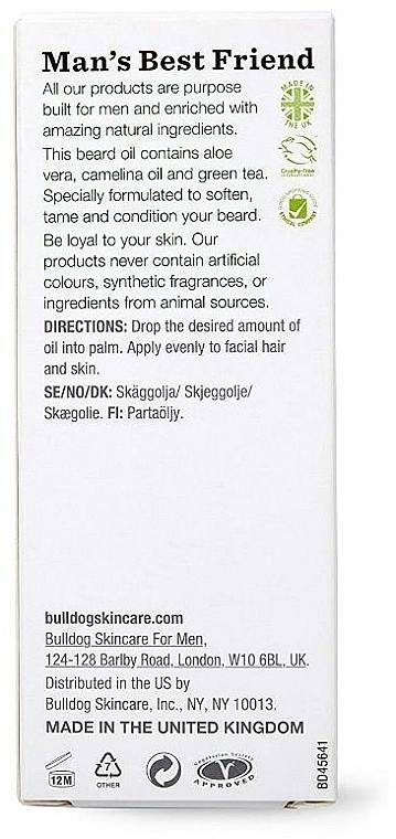 Масло за брада - Bulldog Skincare Original Beard Oil — снимка N3