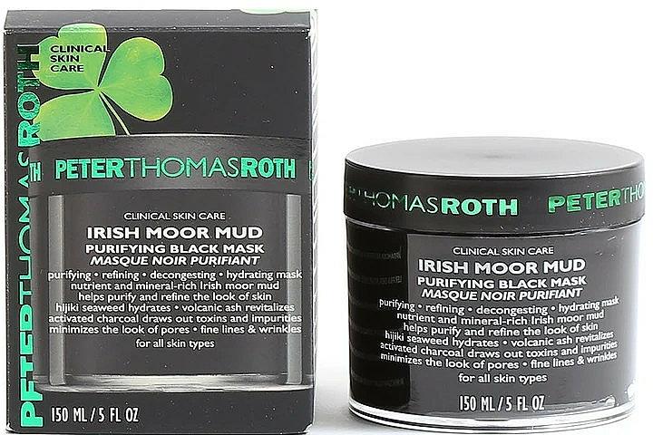 Почистваща маска за лице - Peter Thomas Roth Irish Moor Mud Purifying Black Mask — снимка N2