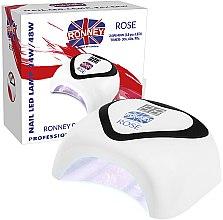 Парфюмерия и Козметика Лампа UV/LED - Ronney Nail Led Lamp Rose White