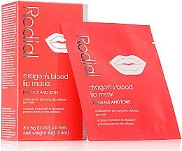 Парфюмерия и Козметика Маска-пач за устни - Rodial Dragon's Blood Lip Masks