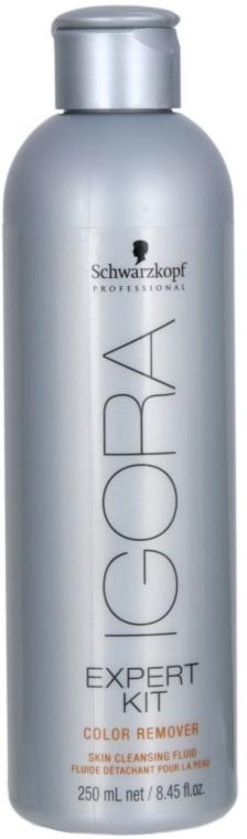 Флуид за почистване на боя върху кожата - Schwarzkopf Professional Igora Color Remover — снимка N1
