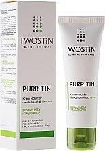Парфюмерия и Козметика Нощен крем против несъвършенства на кожата - Iwostin Purritin Reducing Imperfections Night Cream