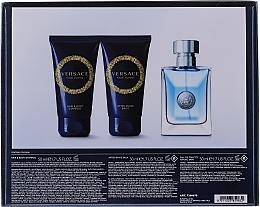 Versace Pour Homme - Комплект за мъже (тоал.вода/50ml + душ гел/50ml + афтършейв-балсам/50ml) — снимка N4