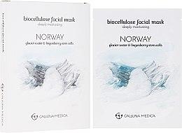 "Парфюмерия и Козметика Памучна маска за лице ""Норвегия"" - Calluna Medica Norway Deeply Moisturizing Biocellulose Facial Mask"