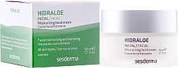 Парфюмерия и Козметика Хидратиращ крем за лице - SesDerma Laboratories Hidraloe Moisturizing Face Cream