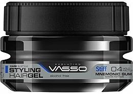 Парфюмерия и Козметика Моделираща гума за коса - Vasso Professional Hair Styling Mnemonic Gum Stiff