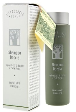 Шампоан-душ гел - L'erbolario Uomo Baobab Shampoo Doccia (мини) — снимка N1