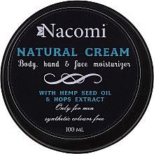 Парфюми, Парфюмерия, козметика Крем за тяло - Nacomi Only For Men Natural Cream