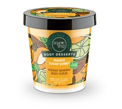 Парфюми, Парфюмерия, козметика Антиоксидантен скраб за тяло - Organic Shop Body Desserts Mango Sugar Sorbet