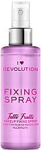 Парфюмерия и Козметика Фиксиращ спрей за грим - I Heart Revolution Fixing Spray Tutti Frutti
